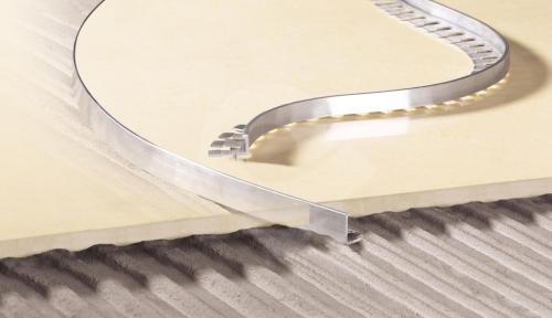 Ohýbací L profil hliník přírodní 10 mm 2,5 m