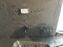 Vyrovnání zdi pro obkladače jádrovou omítkou, cena práce za m2 bez materiálu