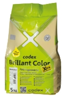 Spárovací hmota antracit CODEX Brillant Color Flex. Xtra 5kg