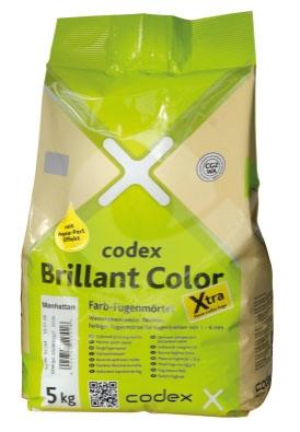 Spárovací hmota briliantově bílá CODEX Brillant Color Flex. Xtra 5kg