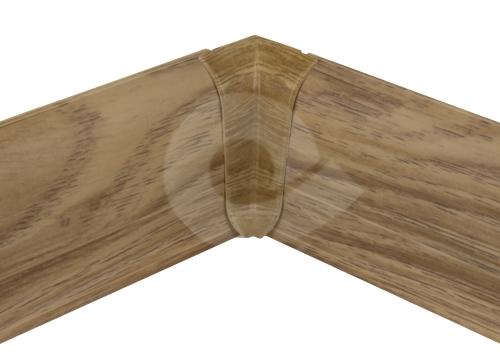 Cezar PREMIUM vnitřní roh, PVC, 59mm, dub alaska, dekor 222