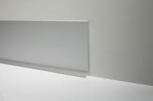 Podlahová soklová lišta AL profil 60 mm stříbrná 2 m