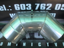 Koleno 87st s kontrolním otvorem pr. 200mm