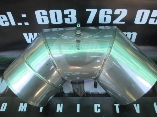Koleno s kontrolním otvorem 90st, pr. 150mm