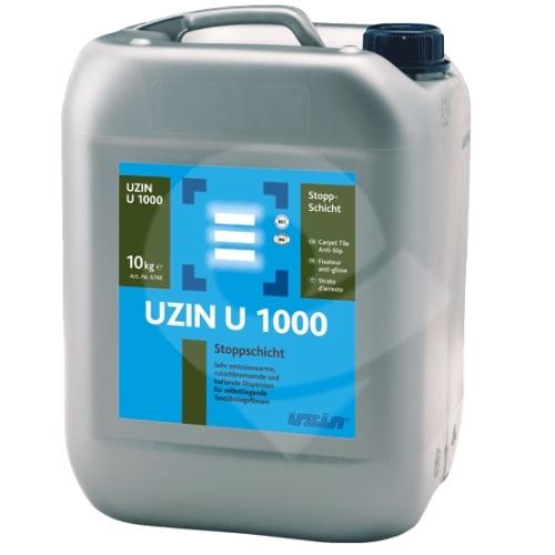 Disperze k protiskluzovému pogumování podkladů pro kobercové čtverce UZIN U 1000 10kg