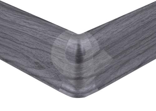 Cezar PREMIUM vnější roh, PVC, 59mm, dub tmavě šedý, dekor 079