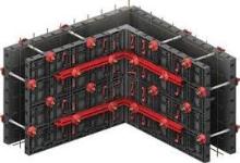 Plastové bednění pro betonář rovných stěn a rohů Geopanel vnitřní roh 30 x 10 x 60