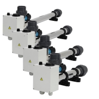 Topení EOV-12, pro ohřev vody s termostatem do 40st s pojistkou 12kW, 400V