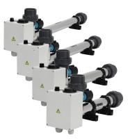 Topení EOV-18, pro ohřev vody s termostatem do 40st s pojistkou 18kW, 400V