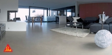Dekorativní cementová stěrka 3-komponentní Sikagard-750 Deco EpoCem 21kg