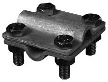Nerezová spojovací svorka páska-páska M8 SR 2b Tremis