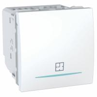 Časový spínač Unica, 2 moduly bílý