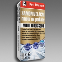Samonivelační hmota na podlahy MULTI FLOOR S600 25kg