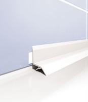 Vanový profil Cezar plast bílý 1,83m