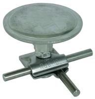 Jímací nerezový hřib pro pochůzné a pojízdné střechy 8-10mm Dehn