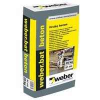 Suchá betonová směs se zrny do 10mm Weber bat beton 25kg