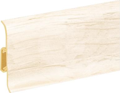 Podlahová lišta soklová Cezar Duo 105