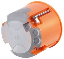 FTR krabice do sádrokartonu 68x47mm oranžová