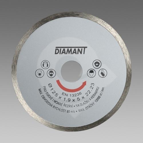 Den Braven diamantový kotouč plný standard 150mm