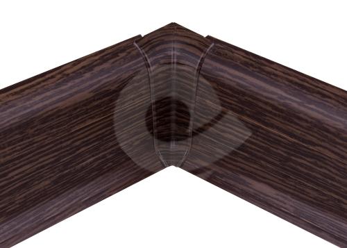 Cezar PREMIUM vnitřní roh, PVC, 59mm, zebrano, dekor 112