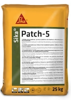 Rychlá opravná hmota pro podlahy s vlákny Sika Patch-5 25kg