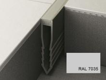 Šípová dilatační lišta do betonu Profilpas Projoint NF plastová šedá 45mm 2,7m