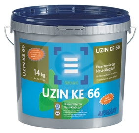 Disperzní lepidlo pro lepení pvc Uzin KE 66 6kg