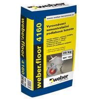 Rychlá samonivelační cementová stěrka pro tl. 2-30mm Weber floor 4160 25kg