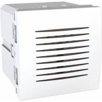 Dveřní zvonek Unica, 2 moduly bílý