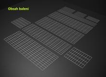 Gabionový koš 150x50x40, velikost oka 5x10cm