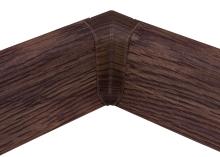 Cezar PREMIUM vnitřní roh, PVC, 59mm, dub klášterní, dekor 186