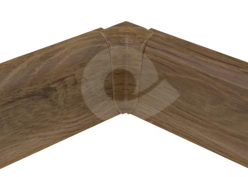 Cezar PREMIUM vnitřní roh, PVC, 59mm, ořech přírodní, dekor 227