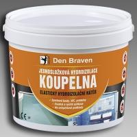 Jednosložková hydroizolace Koupelna Den Braven 13kg
