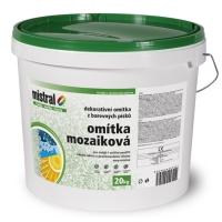 Mistral Mozaiková dekorativní omítka 20kg (základ 6kg)