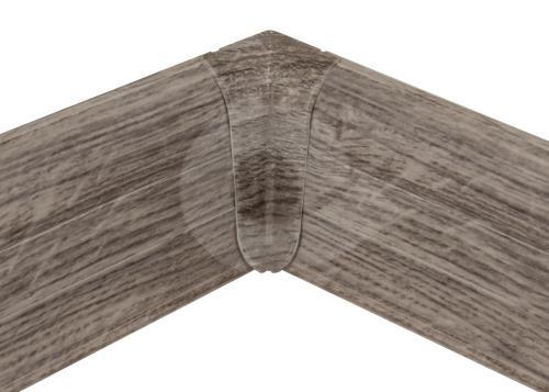 Cezar PREMIUM vnitřní roh, PVC, 59mm, dub richmond, dekor 145