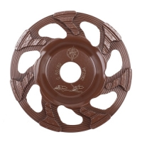 Diamantový kotouč Cup Wheel 4 Brown Redimax 125mm zrnitost 80