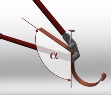 Montáž háků do okapového systému cena za práce bez materiálu za kus