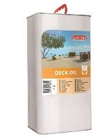 Palubkový olej pro základní ošetření dřevěných teras a balkonů Synteco Deck Oil 5 l