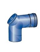 Koleno s kontrolním otvorem pro kondenzační kotle