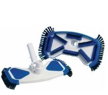 Bazénový vysavač DE LUX 280 mm s bočními kartáčky a s připojením 32/38 mm na čištění bazénů