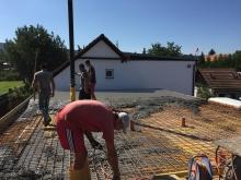 Železobetonový strop, cena za m2 betonáže