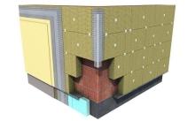 Zateplení fasády minerální vatou