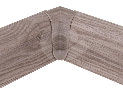 Cezar PREMIUM vnitřní roh, PVC, 59mm, dub belfast, dekor 158
