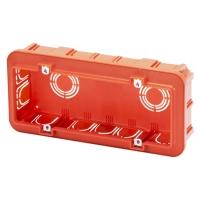 Elektroinstalační krabice pod omítku 6M 194x90x50mm