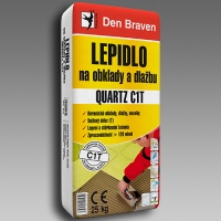 Lepidlo na obklady a dlažbu Den Braven Quartz C1T 25kg