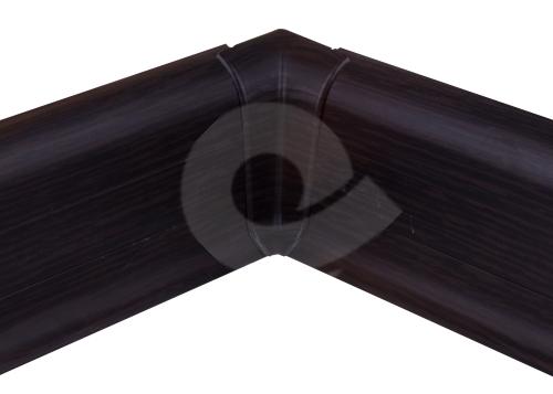 Cezar PREMIUM vnitřní roh, PVC, 59mm, wenge tmavý, dekor 200