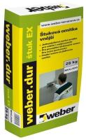 Štuková omítka vnější Weber dur štuk EX 25kg