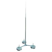 Jímací stožár s trojnožkou hliník 5000mm Dehn