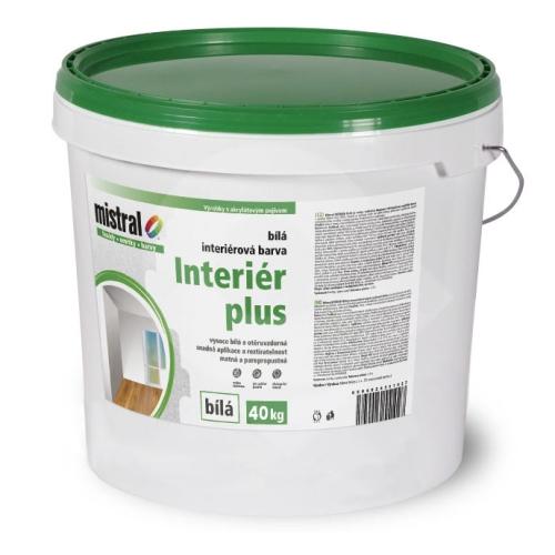 Mistral Interiér plus - bílá interiérová barva 40 kg