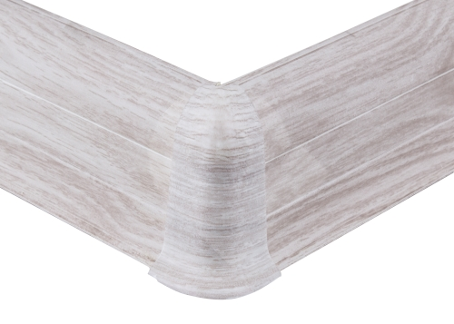 Cezar PREMIUM vnější roh, PVC, 59mm, jasan kaukazský, dekor 159